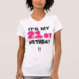 T-shirt C'est mon 21ème anniversaire !