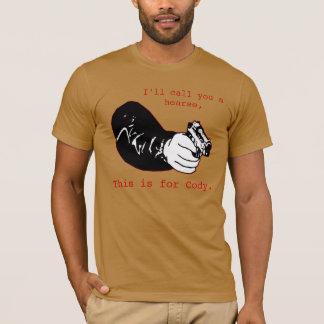 T-shirt C'est pour cody.