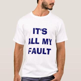 T-shirt C'est tout mon défaut