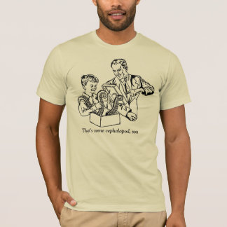 T-shirt C'est un certain céphalopode, fils
