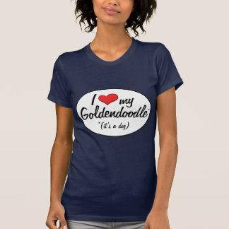T-shirt C'est un chien ! J'aime mon Goldendoodle