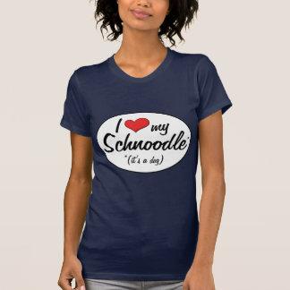 T-shirt C'est un chien ! J'aime mon Schnoodle
