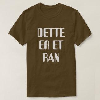 T-shirt C'est un vol dans le brun norvégien