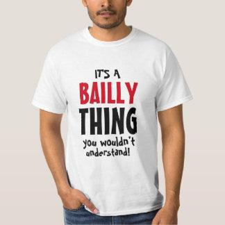 T-shirt C'est une chose de Bailly que vous ne comprendriez