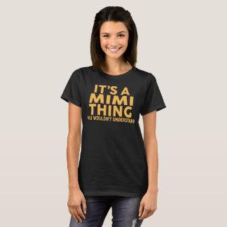T-shirt C'est UNE CHOSE MIMI…
