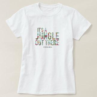 T-shirt C'est une pièce en t de souvenir du Costa Rica de