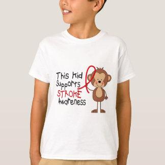 T-shirt Cet enfant soutient la conscience de course