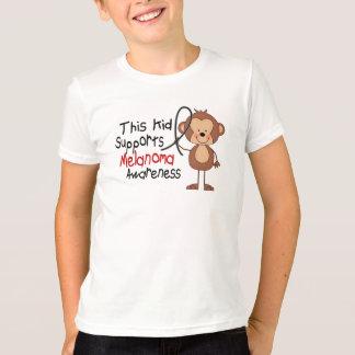 T-shirt Cet enfant soutient la conscience de mélanome