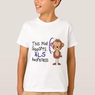T-shirt Cet enfant soutient la conscience de SAL