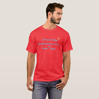 T-shirt C'était maison et entretien de séjour au wifey ou