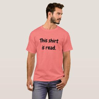 T-shirt Cette chemise est indiquée