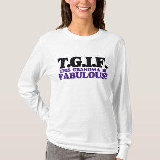 T-shirt Cette grand-maman de TGIF est fabuleuse