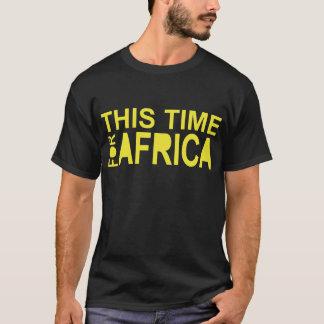T-shirt Cette heure pour le waka-waka de l'Afrique (côté