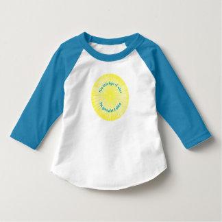 T-shirt Cette petite lumière du mien pour des enfants