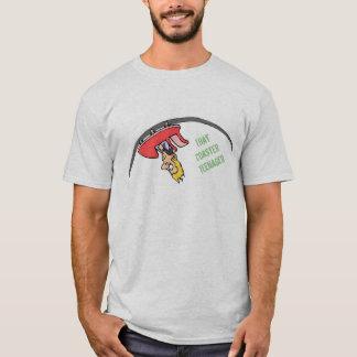 T-shirt Cette pièce en t de logo d'adolescent de dessous
