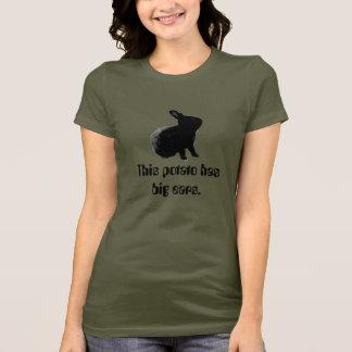 T-shirt Cette pomme de terre…