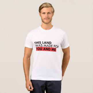T-shirt Cette terre est votre terre
