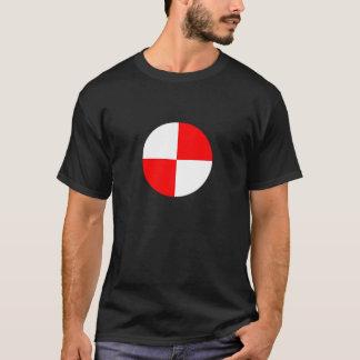 T-shirt CG. - Centre de le symbole de gravité