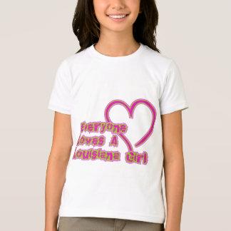 T-shirt Chacun aime une fille de la Louisiane