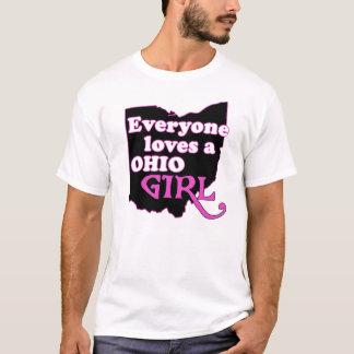 T-shirt Chacun aime une fille de l'Ohio