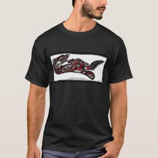 T-shirt Chaîne de cadeau de LOUTRE et de BÉBÉ de MER