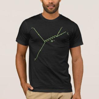 T-shirt Chaîne de Feynman Proton Proton -- Comment nous
