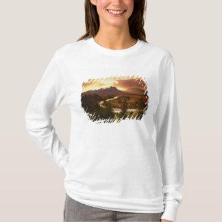 T-shirt Chaîne de Teton au coucher du soleil, de la