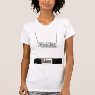 T-shirt chaîne W, boucle
