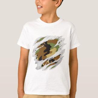 T-shirt Chair déchirée Camo