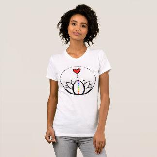 T-shirt Chakra Lotus