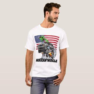 T-shirt Challengeur américain de muscle