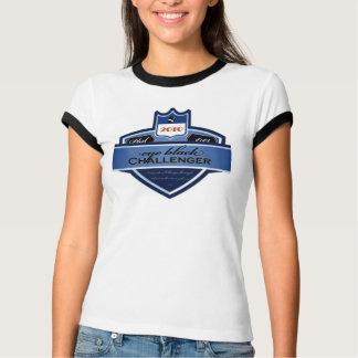T-shirt Challengeur noir d'oeil