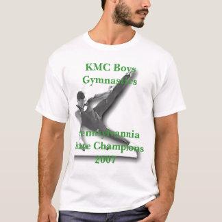 T-shirt Cham d'état de GymnasticsPennsylvannia de garçons
