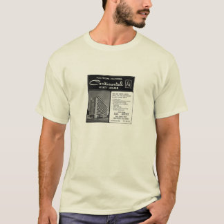 T-shirt Chambre d'émeute - Chambre continentale de Hyatt,