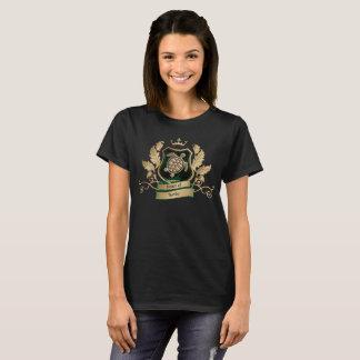 T-shirt Chambre d'or de crête de tortues et de conception