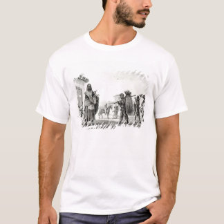 T-shirt Chambre pour le loyer, le cheval et la chèvre à