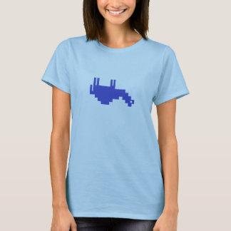 T-shirt Chameau à l'envers de NoCamels pour des femmes !