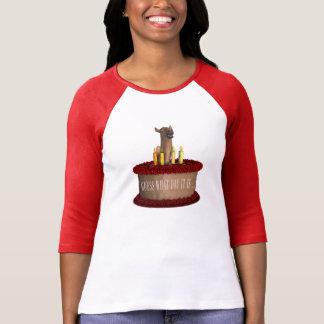 T-shirt Chameau drôle de joyeux anniversaire