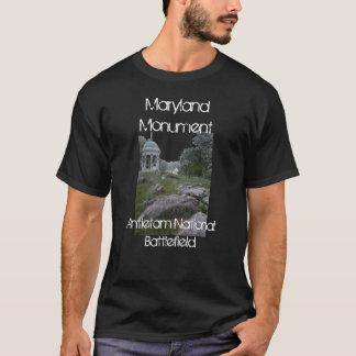 T-shirt Champ de bataille national d'Antietam, monument du