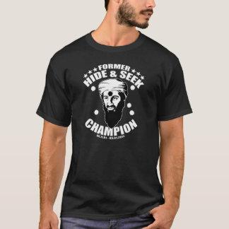 T-shirt champion de cache-cache