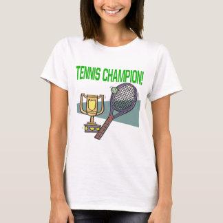 T-shirt Champion de tennis