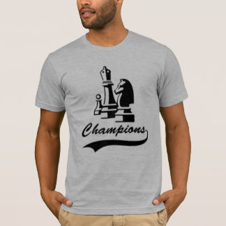 T-shirt Champion d'échecs