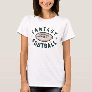 T-shirt Champion du football d'imaginaire