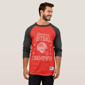 T-shirt Champion du football d'imaginaire