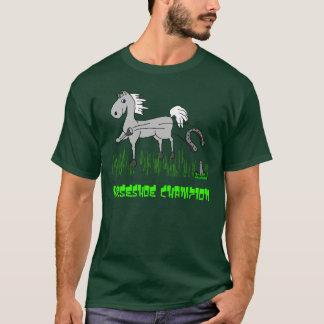 T-shirt champion en fer à cheval
