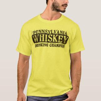 T-shirt Champion potable de whiskey de la Pennsylvanie