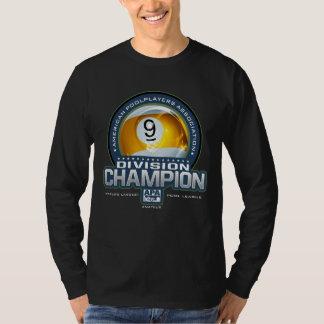 T-shirt Champions de Division de boule d'APA 9