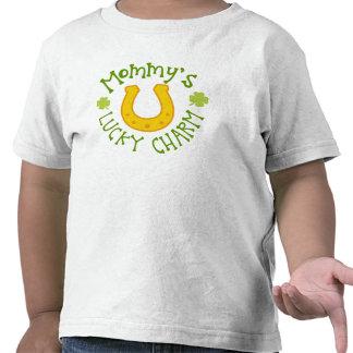 T-shirt chanceux d'enfant en bas âge du charme de