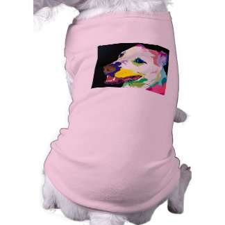 T-shirt Chandail coloré de chienchien de Pitbull - vêtemen