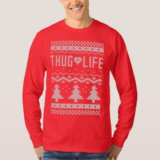 T-shirt Chandail de Noël de la vie de voyou